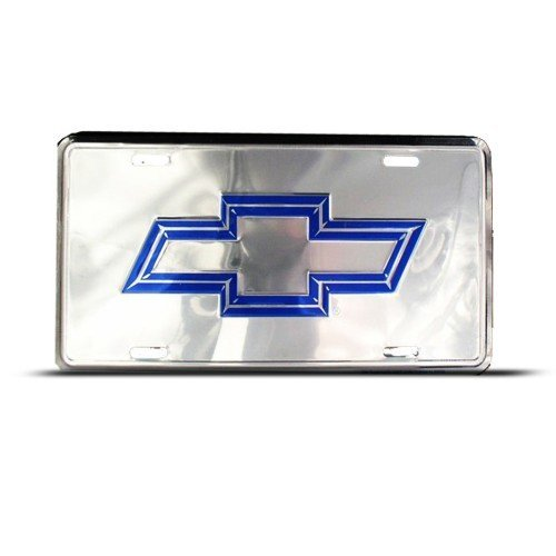 chevy bow tie license plate - 9