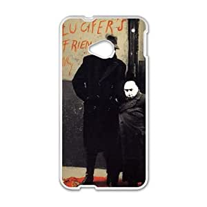 HTC One M7 Cell Phone Case Covers White Lucifer's Friend as a gift A4612515