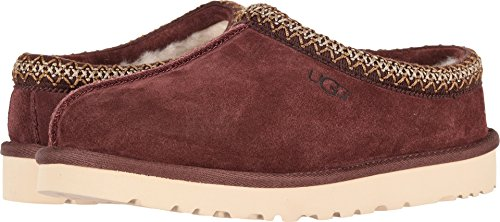 UGG Men's Tasman Slipper, Burgundy, 10 M US