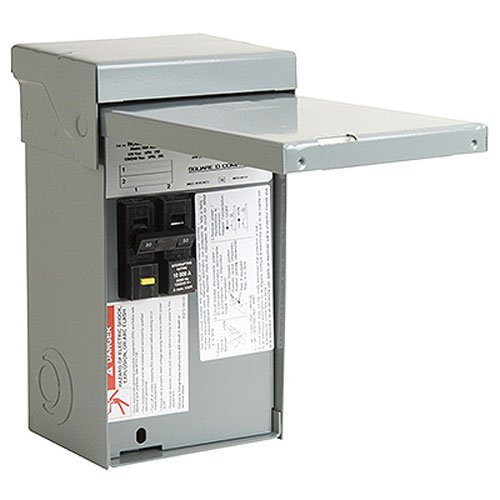 Breaker Ground Fault Square D (Square D by Schneider Electric HOME250SPA Homeline 50-Amp Spa Panel)