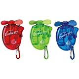 Sbeauty Portable Carabiner Water Misting Fan Mini Fan (3 Piece Set)