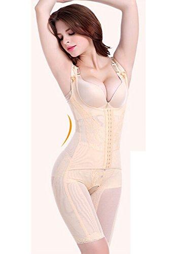 SUPPLIM Women Body Shaper,Firm Control Waist Trainer Seamless Shapewear Bodysuit