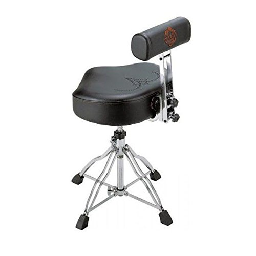 Tama TAMHT741 Ergo-Rider Quartet with Backrest Drum Throne