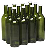 North Mountain Supply 750ml Champagne Green Glass