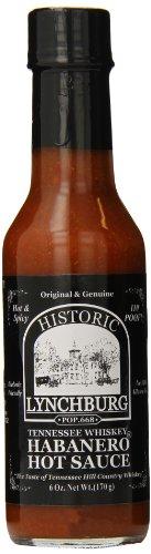 Lynchburg Tennessee Whiskey Habanero Hot Sauce, 6 Ounce