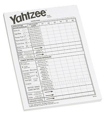 (Yahtzee Score Pad -- Case of 7)