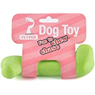 Petper Dog Chew Toy, Durable Dog Bone Toys for Puppy Dogs, Green, Small, Model Number: CW-0010