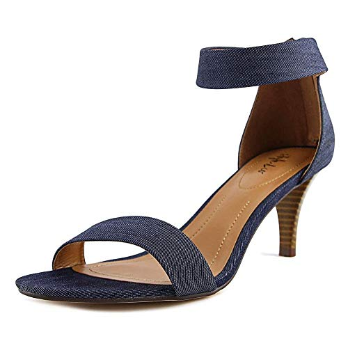 Style & Co. Womens Paycee Open Toe Casual Ankle Strap Sandals, Indigo, Size 10.0