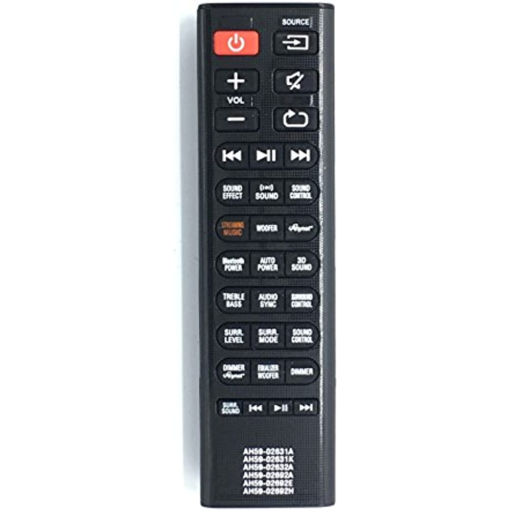 New AH59-02692E Replaced Remote Control Fit For Samsung Sound Bar Home Audio