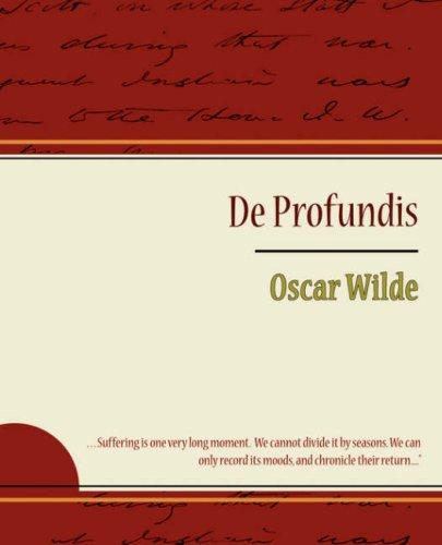 Download de Profundis - Oscar Wilde PDF