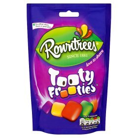 Original Rowntrees Tooty Frooties Sweets Bag Pouch Imported From The UK England Rowntrees Tooty Frooties Large Bag 150g