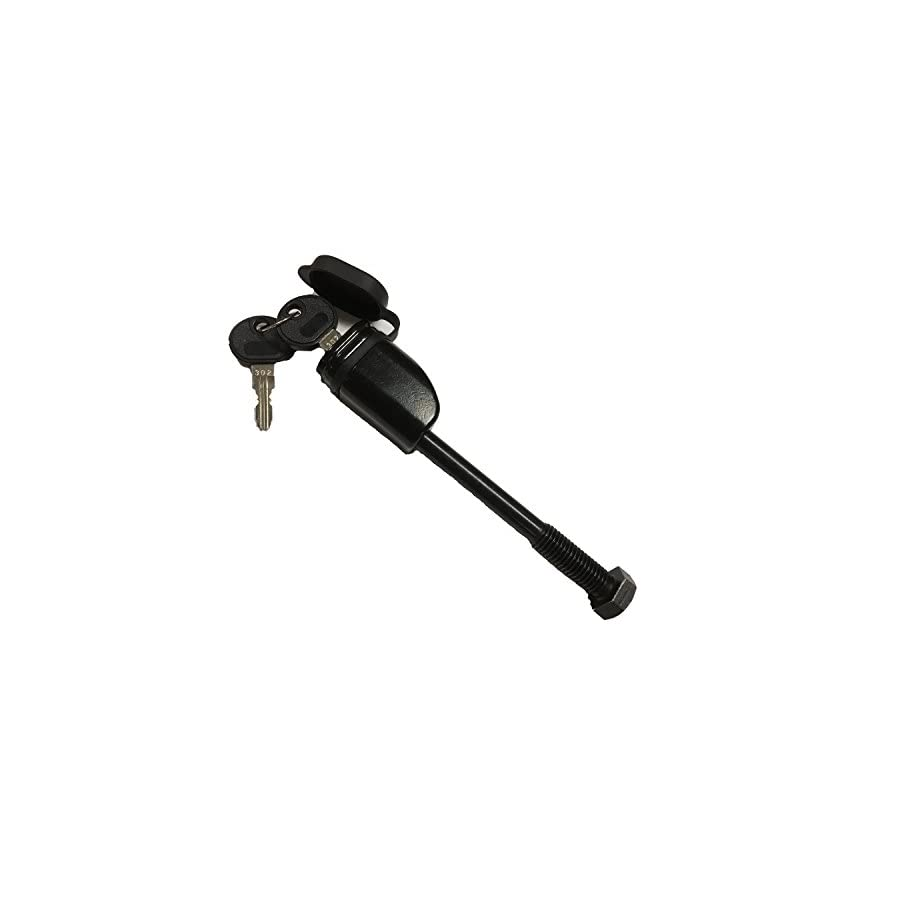 Advantage Threaded Hitch Bolt and Lock Replacement for Thule Snug Tite Hitch Lock and Anti Rattle Device