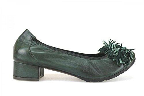 Calpierre - Zapatos de vestir de Piel para mujer Verde verde