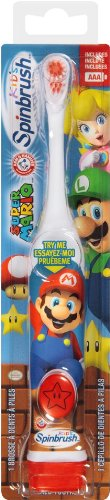 Brosse à dents de Spinbrush Super Mario Kid Powered