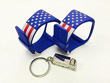 BSI 2pcs la bandera americana bandas de repuesto para Samsung Gear ...