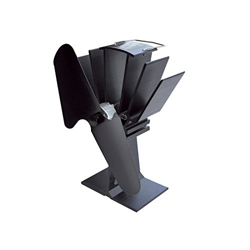 Heat Powered Stove Fan by SBI Heating Accessories