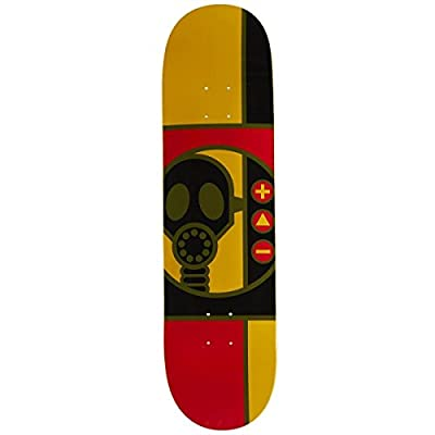 """Alien Workshop Gas Mask RnD Skateboard Deck - 8.38"""" by Alien Workshop"""