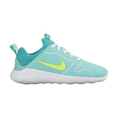 Nike Damen Kaishi 2.0 (GS) Laufschuhe, Turquesa (Hyper Turq / Volt-Clear Jade-White), 38.5 EU