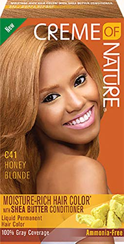 Creme of Nature Liquid Hair Color - C41 Honey Blonde