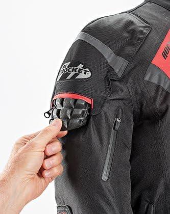 Black, X-Large Joe Rocket Mens 5.0 Textile Motorcycle Jacket