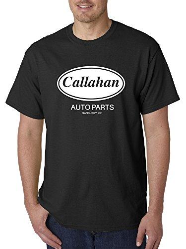 Trendy USA 898 - Unisex T-Shirt Callahan Auto Parts Tommy Boy 4XL Black