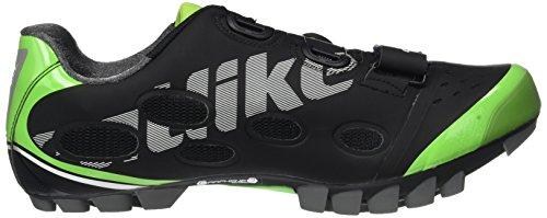 Catlike Whisper de 000 Ciclismo Unisex Montaña MTB EU 2016 Negro Verde Negro de Adulto 42 Zapatillas rrdYpw