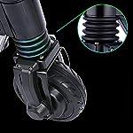 HAOYF-Portatile-Monopattino-Elettrico-28-Km-A-Lungo-Raggio-con-Pneumatici-in-Gomma-Piena-da-55-Pollici-Scooter-Elettrico-Pieghevole-per-Adulti-E-Adolescenti-Carico-Massimo-120-kg