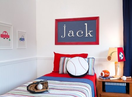Wooden hanging wall letters b white decorative wall for Decorative letters for kids room