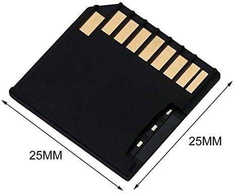 sahnah Mini Short Secure Digital Card Adapter TF Card Memory Adapter Drive