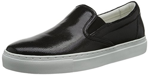 Hugo Cleah-vs 10191394 01, Mocasines Mujer Negro (Black 001)