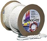 Anchor Line, BB, 1/2'' x 150', Black