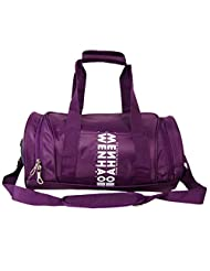 WENHAO Travel Small Duffel Sports Gym Luggage Bag For Women (Small, Purple)