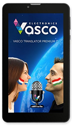Vasco Translator Premium 7'' - Voice and Full Sentence Translator with Native Speaker Pronunciation by Vasco Electronics