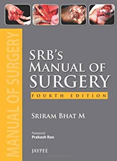SRB's Manual of Surgery 4th Edition price comparison at Flipkart, Amazon, Crossword, Uread, Bookadda, Landmark, Homeshop18