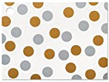 Metallic Dots Theme Gift (6 Pack ) 3-3/4x2-3/4''