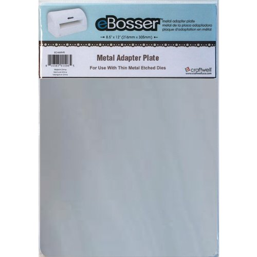 Craftwell USA Metal Adapter Plate for eBosser Die Cutter by Craftwell