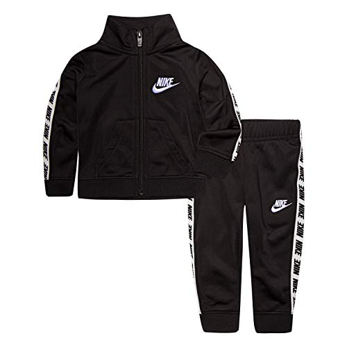 - Nike Baby Girls' Toddler Tricot Track Suit 2-Piece Outfit Set, Black, 4T