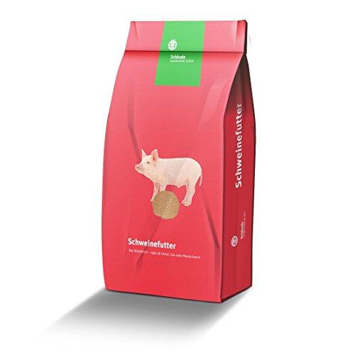 Schweinemastfutter II - Alleinfuttermittel für Mastschweine ab einem Gewicht von etwa 50 kg - mehlförmig 25 kg gesackt