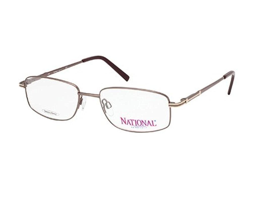 Eyeglasses National NA 325 NA0325 048 shiny dark brown