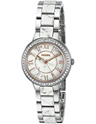 Fossil Womens ES3962 Virginia Stainless Steel Watch