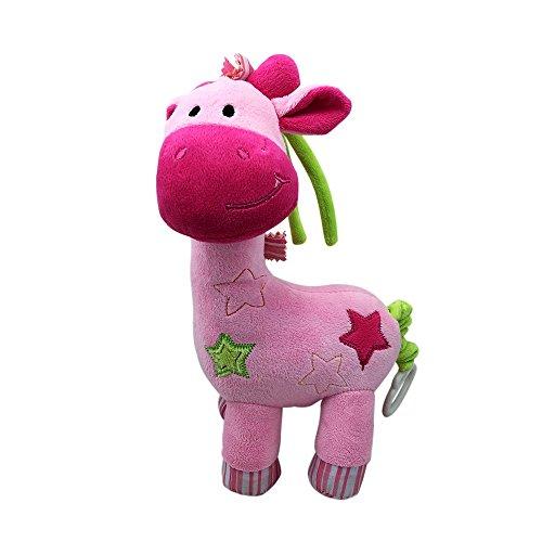 12'' MUSICAL GIRAFFE PLUSH (PINK) 12' Giraffe