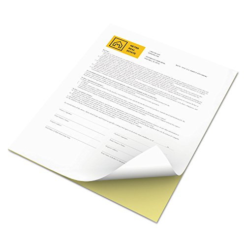 Xerox 3R12420 Revolution Digital Carbonless Paper, 8 1/2 x 11, White/Canary, 5,000 Sheets/CT by Xerox (Image #2)