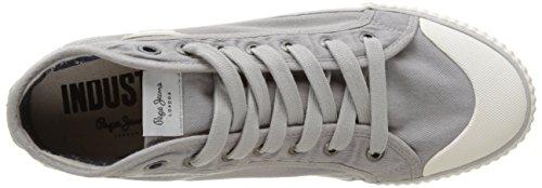 Pepe Jeans London Herren Industry Studio Low-Top Grau (Grey)