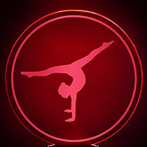 3d体操MovementナイトライトテーブルデスクOptical Illusionランプ7色変更ライトLEDテーブルランプXmasホームLove Brithday子供キッズ装飾おもちゃギフト B07CL6T38N