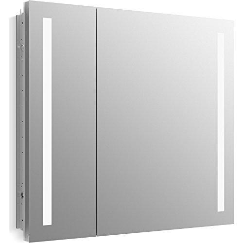 Marvelous Kohler 99009 Tl Na Verdera Lighted Medicine Cabinet Aluminum 34X30 Download Free Architecture Designs Sospemadebymaigaardcom