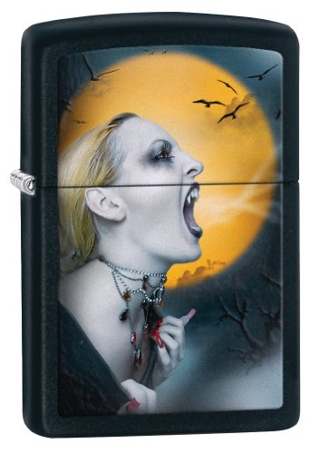 Zippo Screaming Vampiress Pocket Lighter