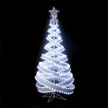 Led Spiral Christmas Tree
