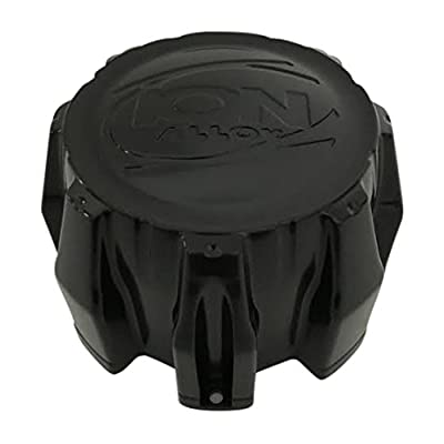 Ion Alloy 8 Lug Black C-202201 C101710MB C10143 Center Cap MCD8245YA03B0: Automotive
