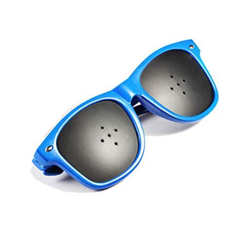 (Eyes Exercise Pinhole Glasses Vision Correction Glasses revention of Near Eyesight Improve Glasses)