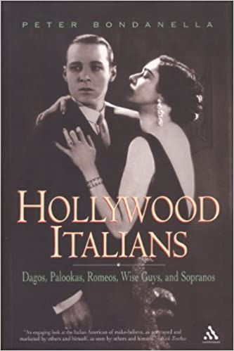 Book Hollywood Italians: Dagos, Palookas, Romeos, Wise Guys, and Sopranos by Peter Bondanella (2005-12-29)